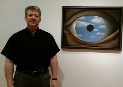 Dr Crane finds he's unusually drawn to this painting at MOMA